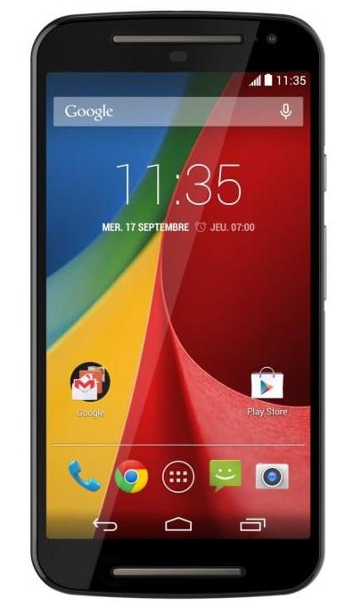 Smartphone Motorola Moto G 2ème génération (30€ ODR)