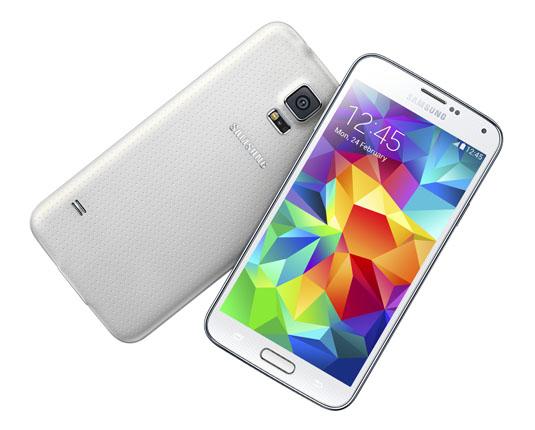 """Smartphone 5.1"""" Samsung Galaxy S5 16 Go - 4G Blanc/Noir/Or"""