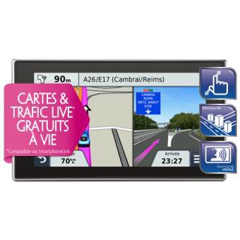 [Adhérent] GPS Garmin nüvi 3597 LMT - Gamme Premium (Europe 45 pays) + Mises à jour de la carte & Trafic Live gratuits à vie (avec ODR 50€) + 20€ en chèque cadeau pour les adhérents