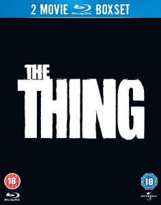 Coffret 2 Blu Ray The Thing (1982 / 2011)