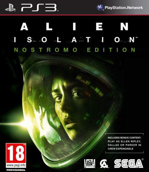 Alien Isolation (Edition Limitée Nostromo) sur PS3 (inclus DLC l'équipage peut être sacrifié) le moins cher