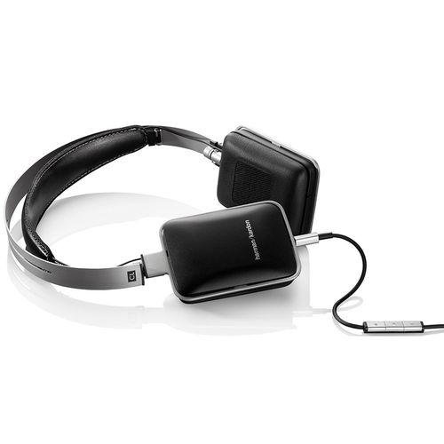 Casque supra-auriculaire Harman Kardon CL - Télécommande et microphone - Noir -
