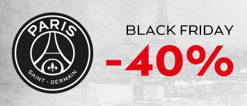 Black Fiday sur la Boutique du PSG articles jusqu'à