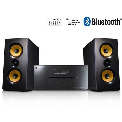 Micro-chaîne CD LG - CM2630B - 160W - Bluetooth - Noir