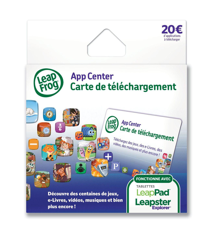 Carte de téléchargement de 20€ Leapfrog pour LeapPad / LeapPad 2 / Leapster Explorer