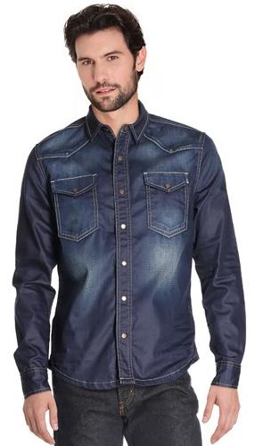 Jusqu'à -70% sur une sélection d'articles Bonobo - Ex : Chemise Homme  en jean Brut
