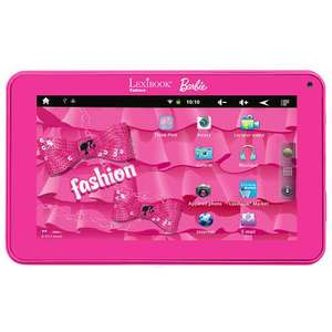 Tablette Barbie 7'' Lexibook - 4 Go - Wifi - Rose