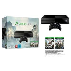 Console XBOX One + Assassin's Creed Unity + Assassin's Creed Black Flag