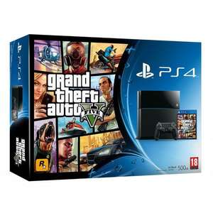 Console Sony PlayStation 4 500Go + Jeu GTA V