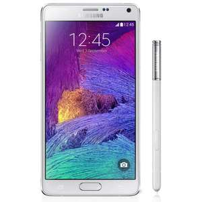 Smartphone Samsung Galaxy Note 4 Blanc (70€ ODR)