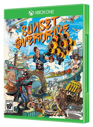 Jeu Sunset Overdrive gratuit pendant 24 heures sur Xbox One