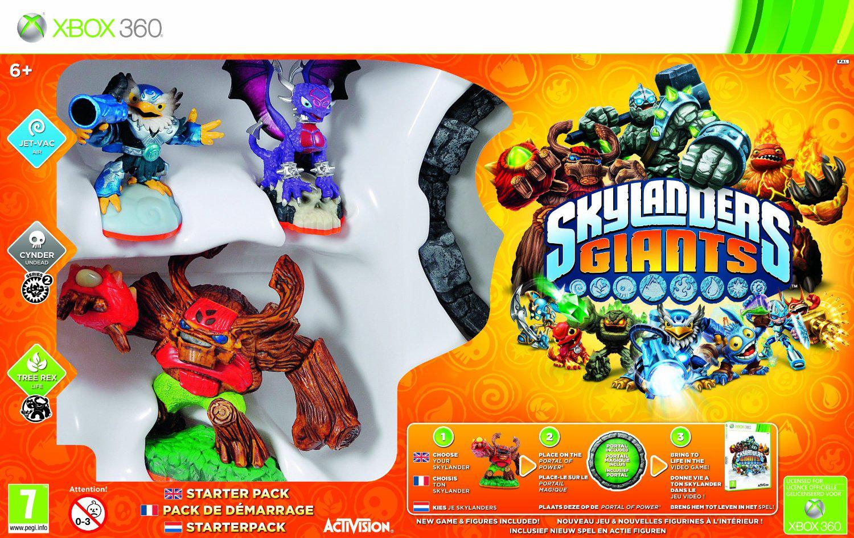 Pack de démarrage Skylanders : Giants Xbox 360 ou PS3