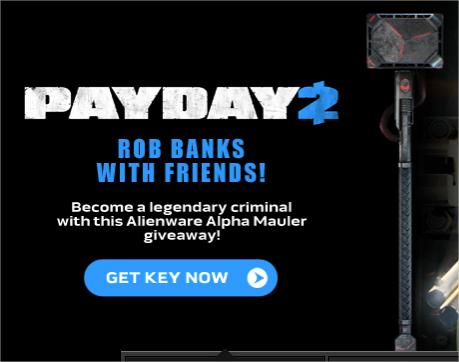 DLC Alienware Alpha pour PayDay 2 (PC - Steam)