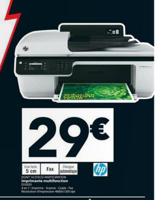Imprimante multifonction jet d'encre HP Officejet 2620