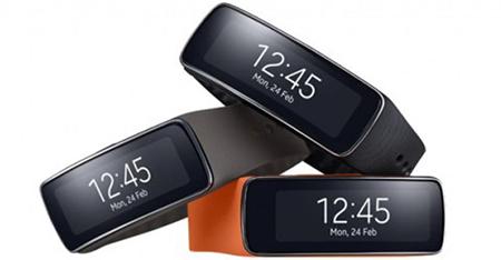 Bracelet connecté Samsung Gear Fit - Noir