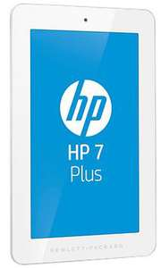 "Tablette 7"" HP 7 Plus 1301 8 Go (ARM Cortex-A7 1 GHz, Android Jelly Bean 4.2.1, Wi-Fi) - Blanc"