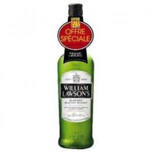 Réduction de 4€ sur whisky William Lawsons