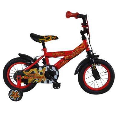 """Vélo enfant à roulettes Cosmic Drag Racer 12"""""""