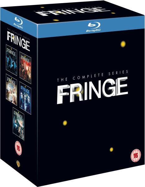 Coffret Blu-ray Intégrale Fringe: Saisons à 1 à 5