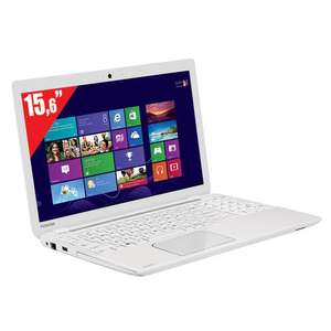 "PC portable 15.6"" Toshiba Satellite L50-B-13D - Blanc"
