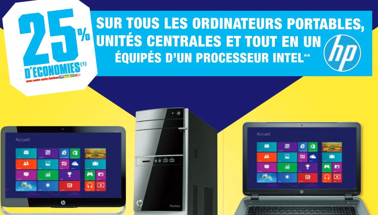 -25% sur la carte Waaoh sur tous les PC HP équipés d'un processeur Intel