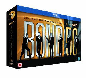 Coffret Blu-ray Bond 50 James Bond - 22 Films