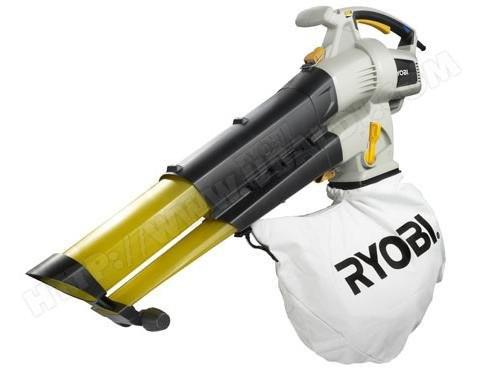 Aspirateur broyeur souffleur filaire Ryobi RBV3000VP 1900W