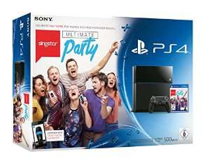 Console Sony PS4 + Singstar Ultimate Party