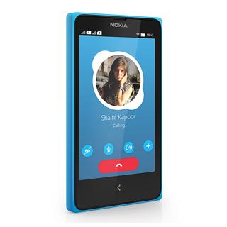 Smartphone Nokia X - Cyan