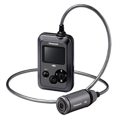 Caméra d'action Panasonic HX-A500 - 4K avec écran, WIFI, étanche 3m + pack accessoires (avec ODR 100€)