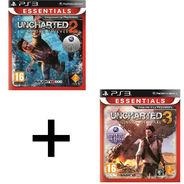 Pack de deux jeux Playstation 3 Essentials au choix