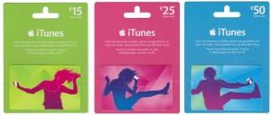 -20% sur les cartes iTunes