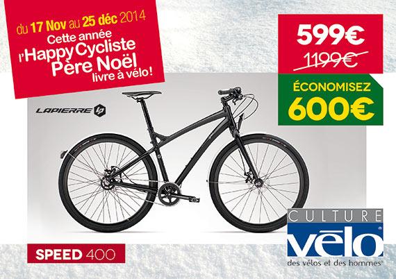 Promotion sur une sélection d'articles - Ex: Vélo Lapierre Speed 400
