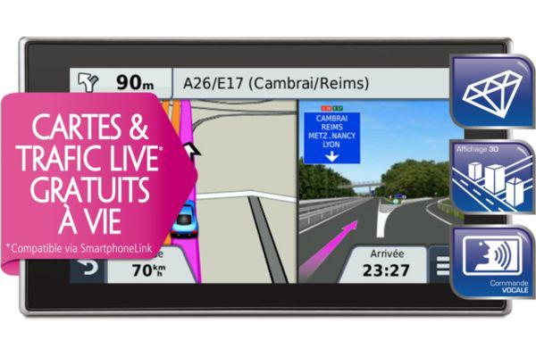 GPS Navigation Garmin NUVI 3597LMT (avec ODR 50€)