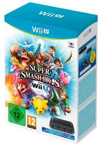 Super smash Bros for Wii u + adaptateur Wii U