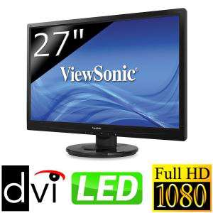 "Écran PC LED Viewsonic 27"" 3.4ms 1080p"