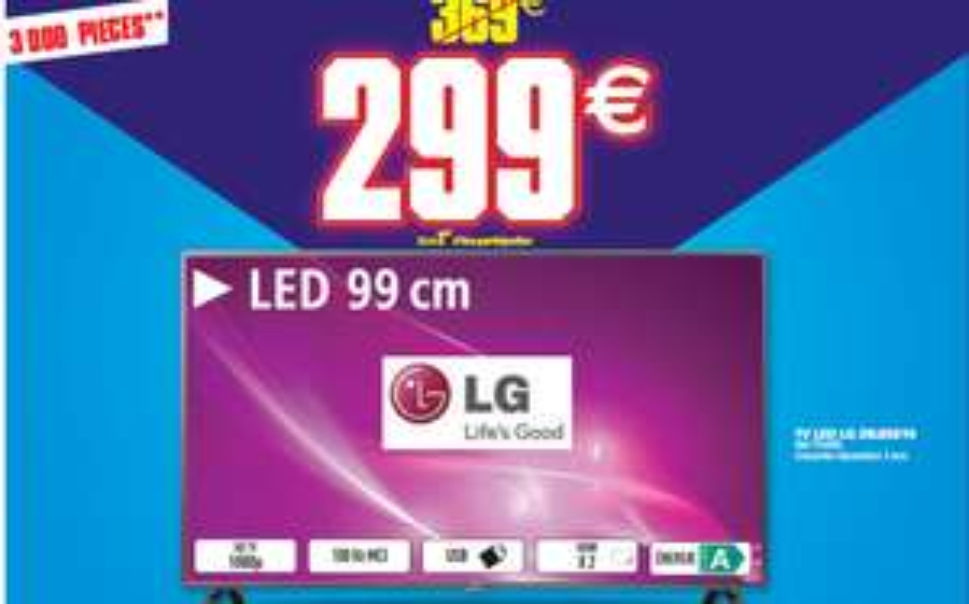 "Téléviseur 39"" LG 39LB5610 - Full HD (en ligne et en magasin)"