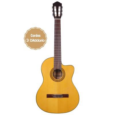 Guitare Classique Eagletone Solea Sc Naturelle