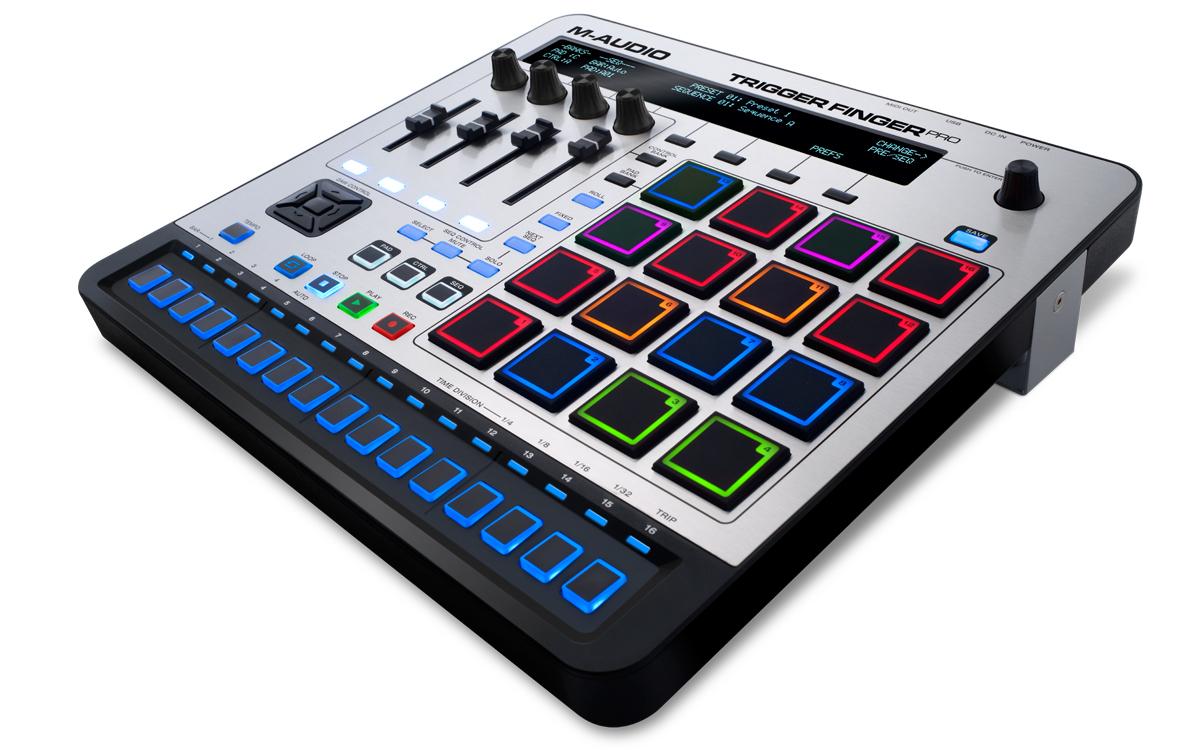 Contrôleur  M-Audio triiger Finger Pro