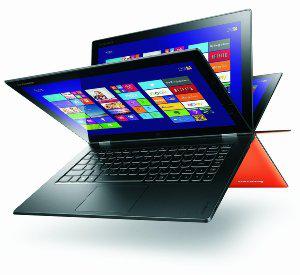 """PC Portable Hybride Tactile 13"""" Lenovo Yoga 2  Noir (ODR de 100€)"""
