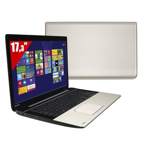 "PC portable 17,3 "" Toshiba - Satellite L70-B-11T - Gris laqué (i5, 4 Go ,750 Go, Windows 8.1)"