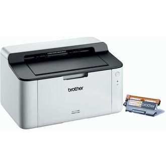 Imprimante Laser Monochrome Brother HL-1110 + Toner TN-1050 (ODR 20€)