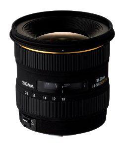 Objectif Sigma 10-20 mm F4-5,6 DC F4-5,6 EX - Monture Canon