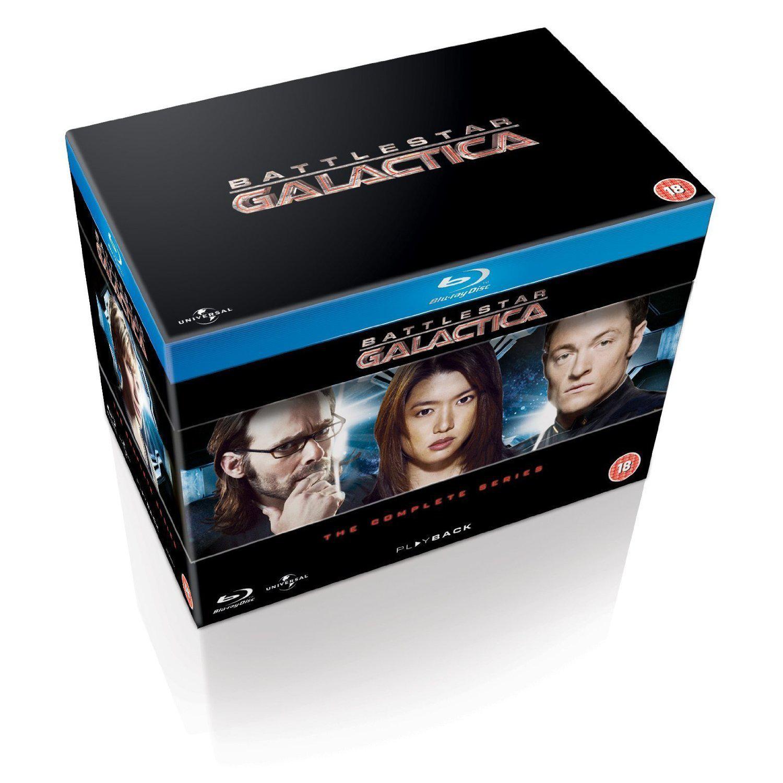 Blu-ray Battlestar Galactica L'intégrale (VOST)