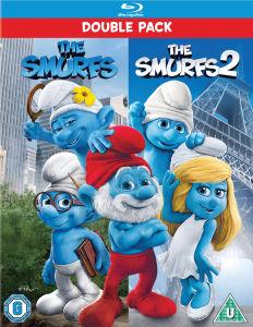 Coffret Blu-ray - Les Schtroumpfs + Les Schtroumpfs 2 (VF/VOST)