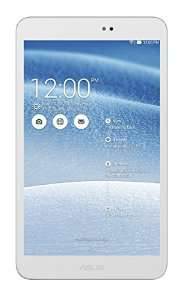 """Tablette tactile 8"""" Asus MeMO Pad 8 ME581C-1B011A  Blanche  (Intel Moorefield, 16 Go, Android, WiFi)"""