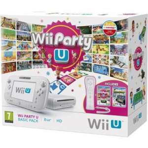 Pack Console Wii U + Wii Party U + Nintendoland +  Wiimote plus