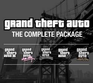 Bundle Grand Theft Auto sur PC : GTA III, IV, Episodes from Liberty City, Vice City, San Andreas