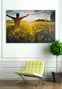 Vos photo sur toile personnalisable 75x50cm 14€, 60x40cm 10€, 45x30cm (avec parrainage)