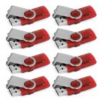 Pack de 8 clés USB Kingston 8Go Data Traveler 101 G2